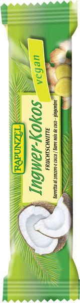 Obrázek Tyčinka Zázvor-kokos 40 g RAPUNZEL