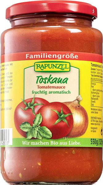 Obrázek Omáčka na těstoviny - Toscana 550 g RAPUNZEL