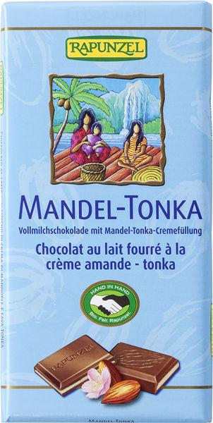 Obrázek Mléčná čokoláda mandle tonka 100 g RAPUNZEL
