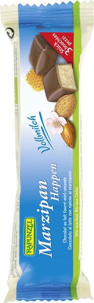 Obrázek Marcipán v mléčné čokoládě 50 g RAPUNZEL