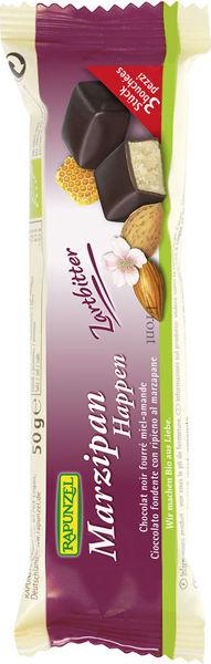 Obrázek Marcipán v hořké čokoládě 50 g RAPUNZEL