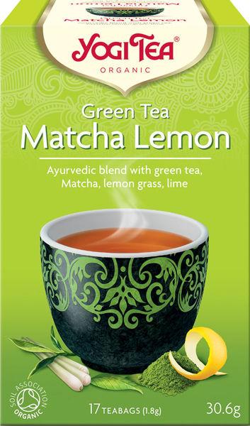 Obrázek Matcha lemon 31 g YOGI TEA