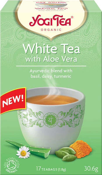 Obrázek Bílý čaj s aloe vera 31 g YOGI TEA