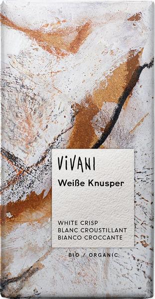 Obrázek Bílá křupavá čokoláda 100 g VIVANI