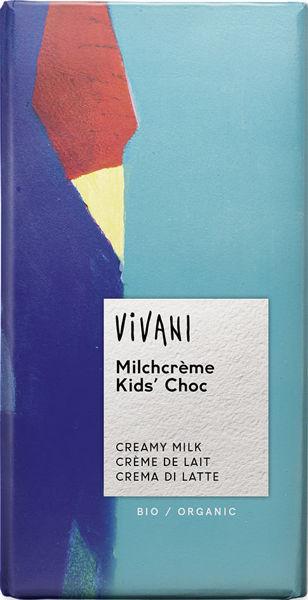 Obrázek Kids čokoláda mléčná s náplní 100 g VIVANI