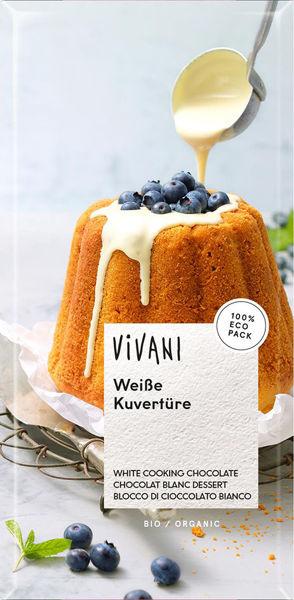 Obrázek Čokoláda na vaření - bílá 200 g VIVANI