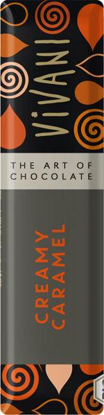 Obrázek Čokoláda mléčná s karamelem 40 g VIVANI