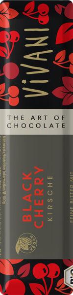 Obrázek Čokoláda hořká s višněmi 35 g VIVANI