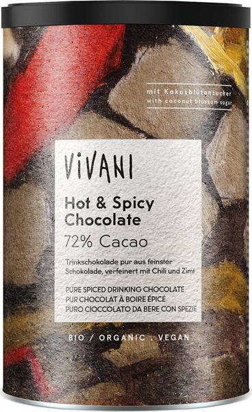 Obrázek Horká čokoláda s chilli a skořicí 280 g VIVANI