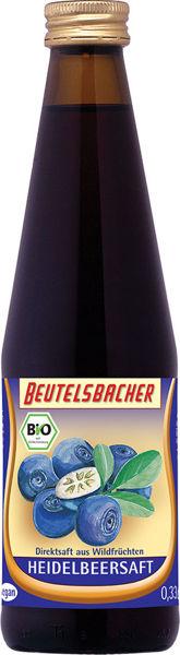 Obrázek Borůvková šťáva 100% 330 ml BEUTELSBACHER