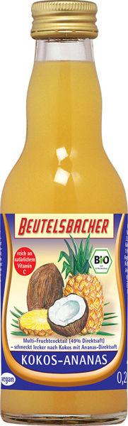 Obrázek Kokosovo-ananasový nápoj 200 ml BEUTELSBACHER