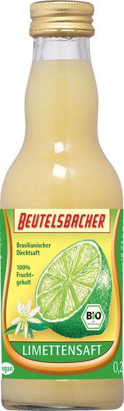 Obrázek Limetková šťáva 100% 200 ml BEUTELSBACHER