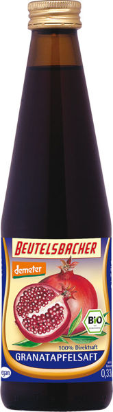 Obrázek Granátová šťáva 100% 330 ml Beutelsbacher