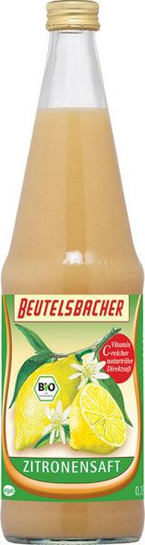 Obrázek Citronová šťáva 100 % 700 ml BEUTELSBACHER