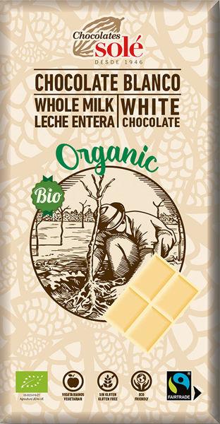 Obrázek Bílá čokoláda 100 g SOLÉ