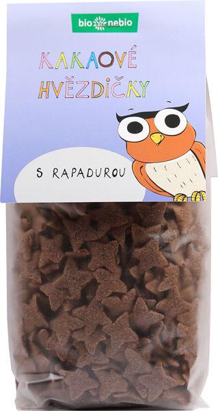 Obrázek Kakaové hvězdičky 150 g BIONEBIO