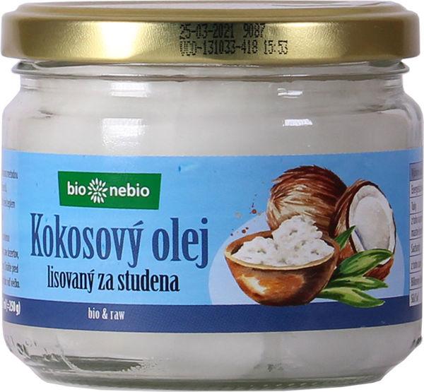 Obrázek Kokosový olej 250 g BIONEBIO