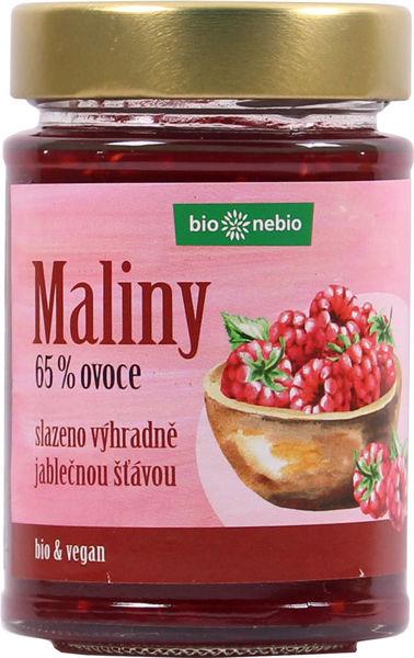 Obrázek Ovocná pomazánka - Maliny 200 g BIONEBIO