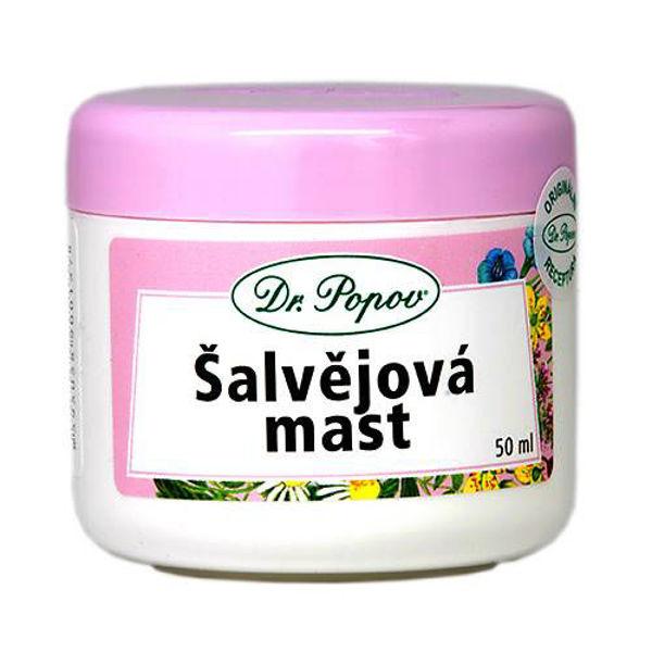 Obrázek Šalvějová mast 50 ml DR. POPOV