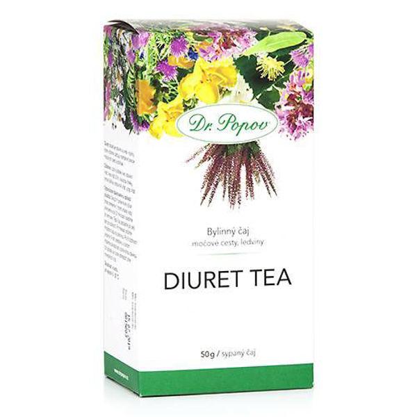 Obrázek Diuret tea, sypaný čaj, 50 g DR. POPOV