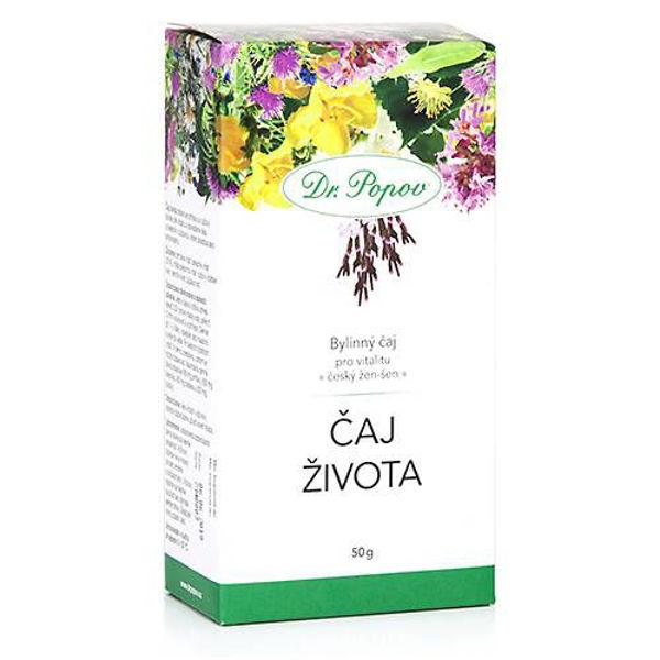 Obrázek Čaj života, sypaný, 50 g DR. POPOV