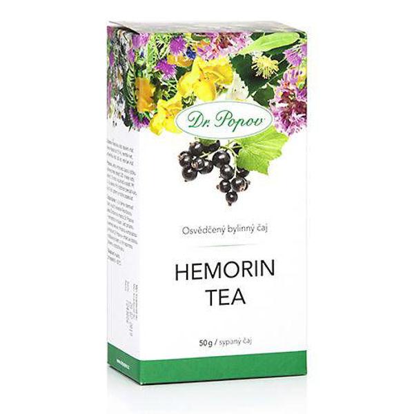 Obrázek Hemorin tea, sypaný čaj, 50 g DR. POPOV
