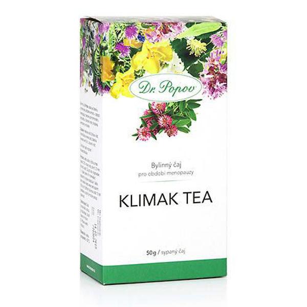 Obrázek Klimak tea, sypaný čaj, 50 g DR. POPOV