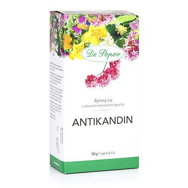 Obrázek Antikandin, sypaný čaj, 50 g DR. POPOV