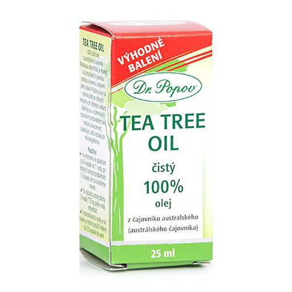 Obrázek Tea Tree Oil 100%, 25 ml DR.POPOV