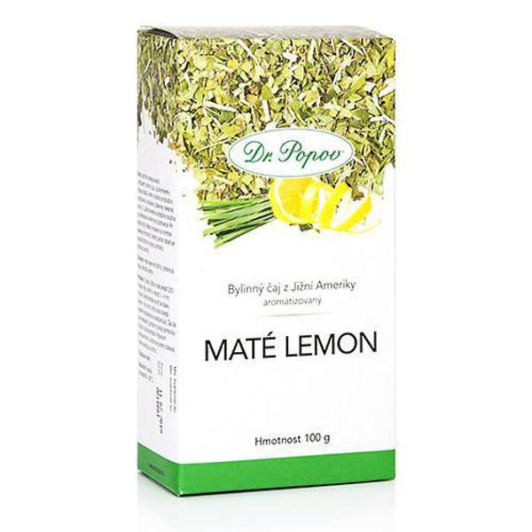 Obrázek Maté lemon 100 g DR. POPOV