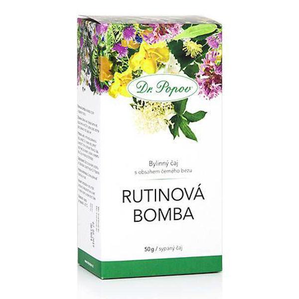 Obrázek Rutinová bomba, sypaný čaj, 50 g DR. POPOV
