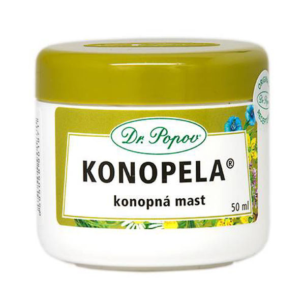 Obrázek Konopná mast Konopela®, 50 ml DR. POPOV