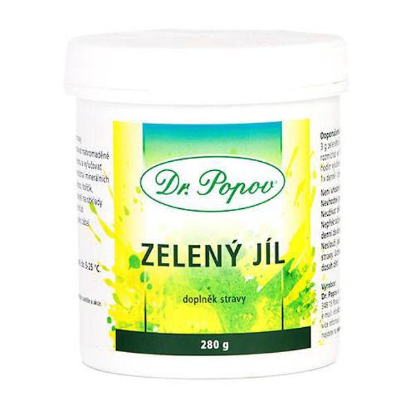 Obrázek Zelený jíl 280 g DR. POPOV