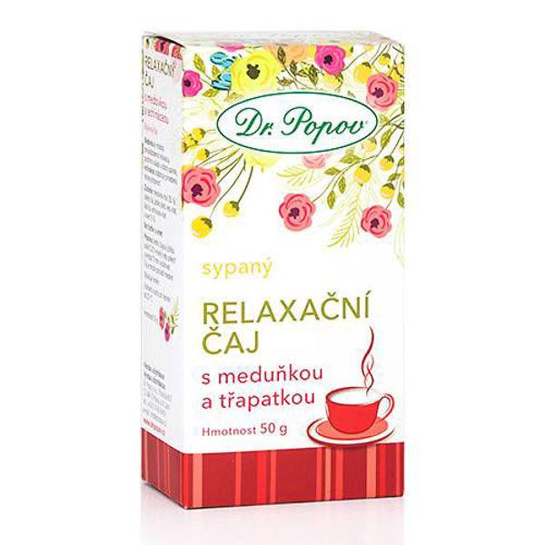 Obrázek Relaxační čaj s meduňkou a třapatkou, 50 g DR. POPOV