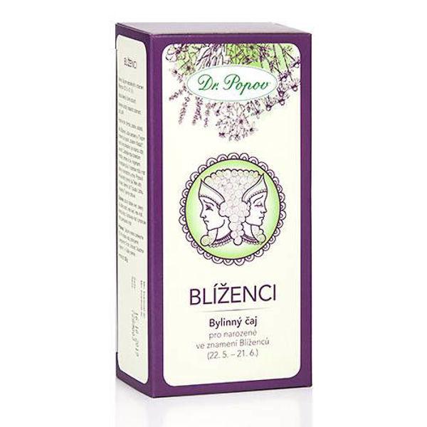 Obrázek Blíženci - bylinný čaj 30 g DR. POPOV