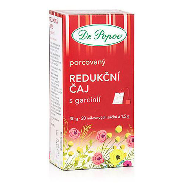 Obrázek Redukční čaj s garcinií 30g DR. POPOV