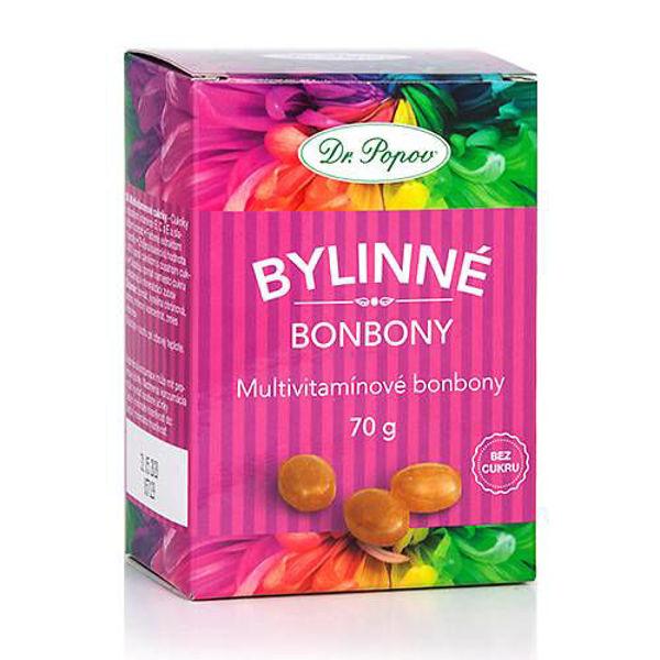 Obrázek Bonbony Multivitamín, 70 g DR. POPOV