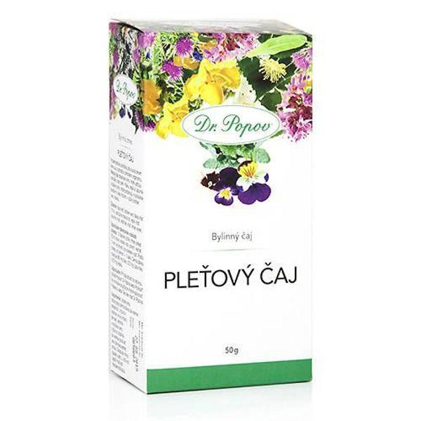 Obrázek Pleťový čaj, sypaný, 50 g DR. POPOV