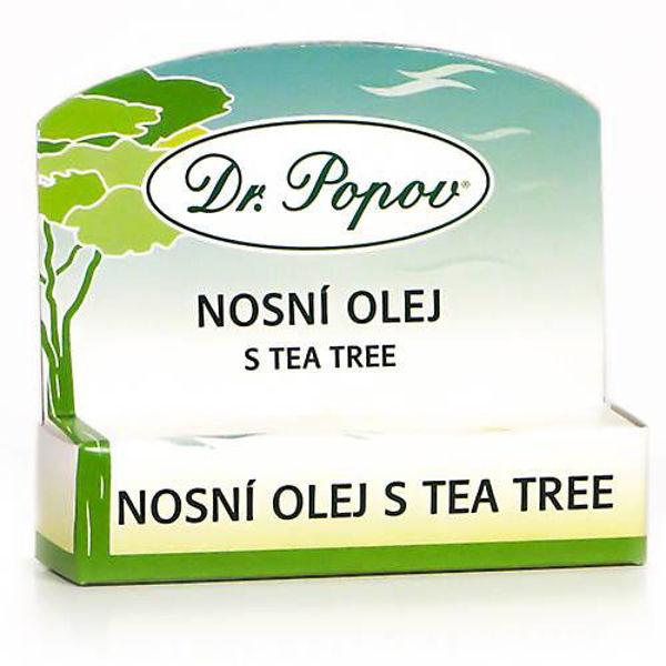 Obrázek Nosní olej s tea tree 6 ml DR. POPOV