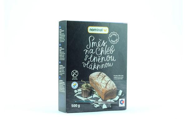 Obrázek Směs na chléb s lněnou vlákninou bez lepku - Nominal 500g