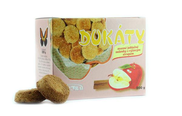 Obrázek Dukáty jablečné 200 g NATURAL