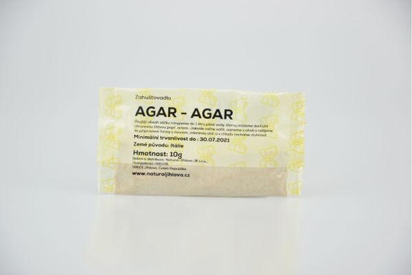 Obrázek Agar 10 g NATURAL