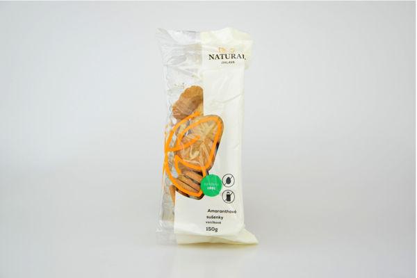 Obrázek Amar. sušenky vanilkové 150 g NATURAL