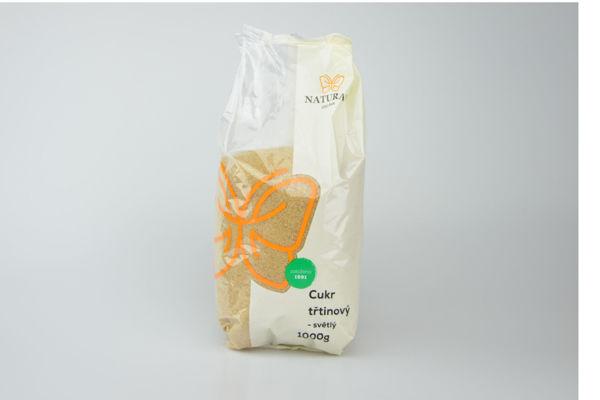 Obrázek Cukr třtinový světlý 1 kg NATURAL