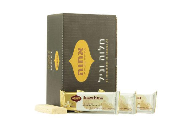 Obrázek Izraelská chalva vanilka 70 g NATURAL