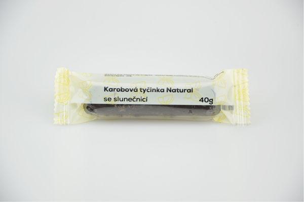Obrázek Karobová tyčinka se slunečnicí 50 g NATURAL