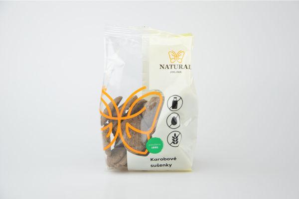 Obrázek Karobové sušenky 150g NATURAL