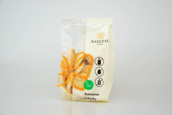 Obrázek Kokosové sušenky 150 g NATURAL