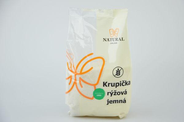 Obrázek Krupička jemná rýžová 500 g NATURAL