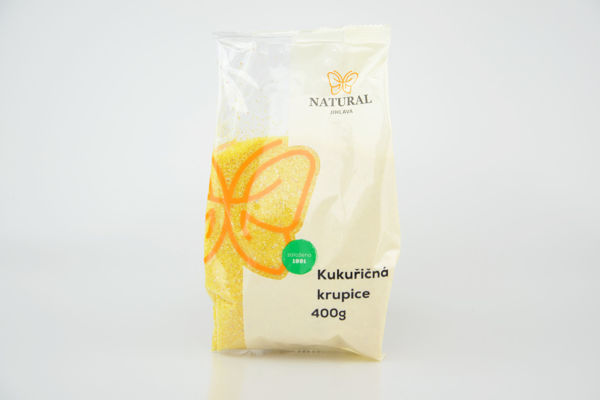 Obrázek Kukuřičná krupice 400 g NATURAL